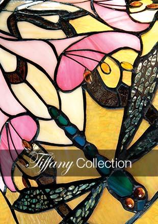 Tiffanylampa Taklampa Modern Ø 41cm