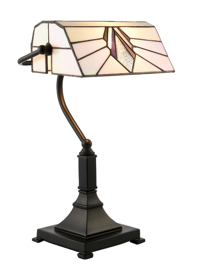 Tiffanylampa Bordslampa  Jewel Ø 25cm