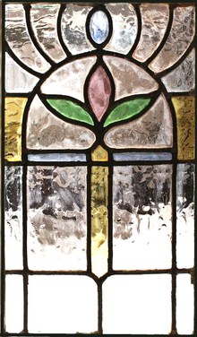 Stained glass window Victorian 2