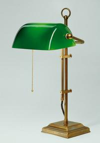 Bordslampa Banker Green