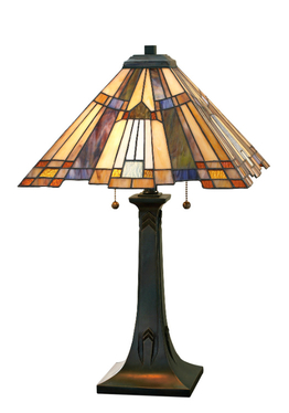 Tiffanylampa Bordslampa Dakota Ø 45cm