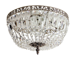 Crystal chandelier Lancelot Nickel  Ø 36cm