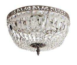 Lámpara de cristal Lancelot Nickel  Ø 36cm