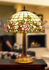 Stor Bordslampa Rose Ø 41cm