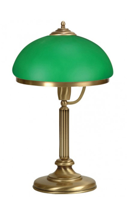 Настолна лампа Classic Green Ø 30см