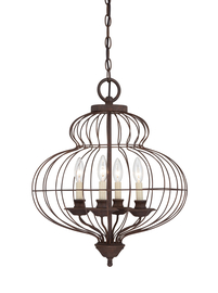 Taklampa Bird Cage Ø 48cm