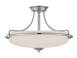 Ceiling lamp Boston Chrome M Ø 53 x 36cm