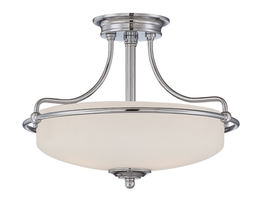Ceiling lamp Boston Chrome S Ø 43 x 30cm