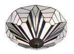 Tiffanylampa Taklampa Jewel Ø 49cm