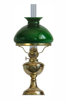 Bordlampe Arno Green Ø 20cm