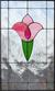Blyinfattat Fönster Flower