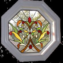 grλεκιασμένο γυαλί παράθυρο Modern