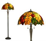 Tiffanylampa Golvlampa Oak Ø 50cm