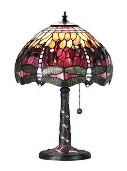 Lampe de table Dragonfly Red  Ø 31cm