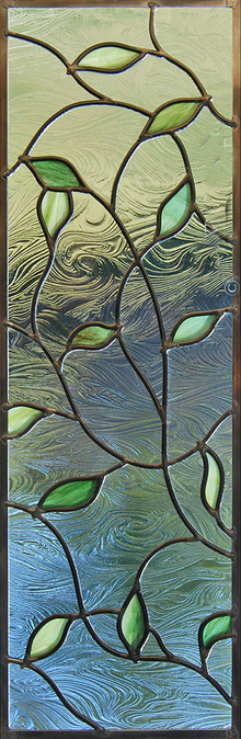 Stained glass window Modern