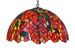 Tiffanylampa Taklampa Laburium Ø 41cm
