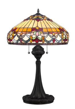 Tiffanylampa Bordslampa Majestic Ø 46cm