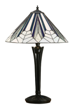Tiffanylampa Bordslampa Jewel Ø 41cm