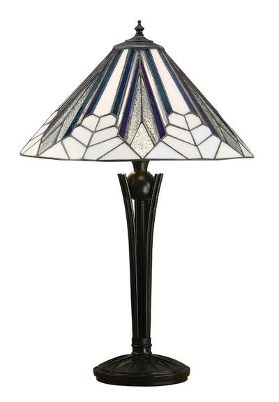 Tiffanylampa Bordslampa Jewel Ø 41cm