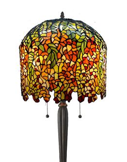 Stehlampe Wisteria Ø 43cm