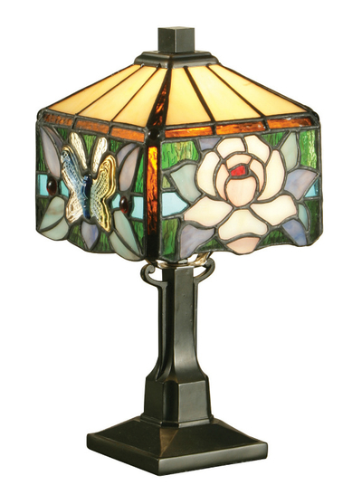 Tiffanylampa Bordslampa Varia Ø 15cm
