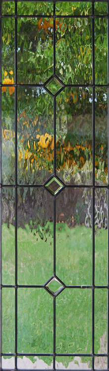 Stained glass window Bevels VI