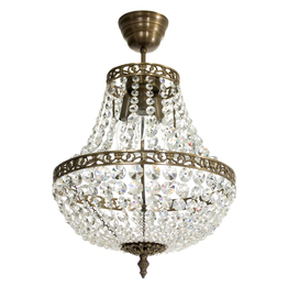 Krystal lysekrone Lancelot Ø 36cm