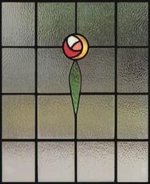 Blyinfattat Fönster Deco 2