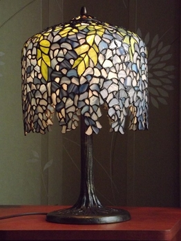 Table lamp Wisteria Ø 25cm