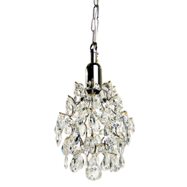 Crystal window lamp Aladdin Brass 15cm