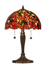 Tiffanylampa Bordslampa Laburium Ø 31cm