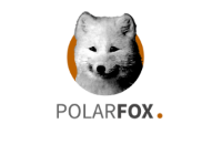 Tiffany lampe Polarfox
